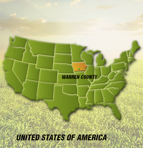 Warren County National Map